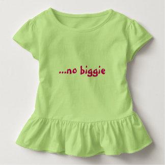 """Funny slogan """"no biggie"""" tshirts"""