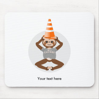 Funny Sloth Be A Unicorn Mouse Pad