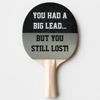 Funny Smack Talk Ping Pong Paddle