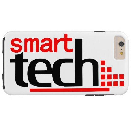 Funny Smart Tech Logo Tough iPhone 6 Plus Case