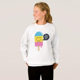 Funny smile ice cream -You're F*ck*ng Fab-girls Sweatshirt