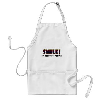 Funny Smile T-shirts Gifts Adult Apron