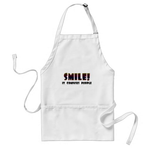 Funny Smile T-shirts Gifts Aprons
