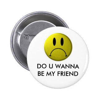 Funny Smiley Face 6 Cm Round Badge