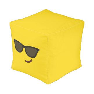 Funny Smiley Face. Emoji. Emoticon. Pouf