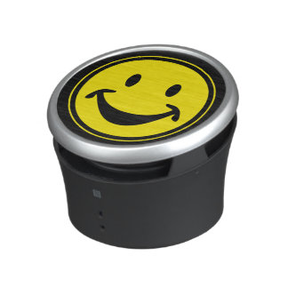 Funny Smiley yellow + your backg. & ideas Speaker