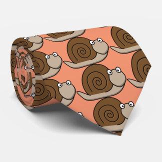 funny snail tie