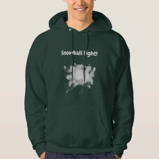 Funny Snowball Fight Shirt