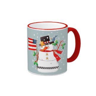 Funny Snowman Christmas Gift Mugs