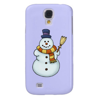 funny snowman winter holiday samsung galaxy s4 case