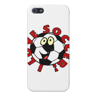 Funny Soccer Ball T shirts and Gifts iPhone 5 Cover