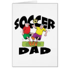 Funny Soccer Dad Father's Day Card