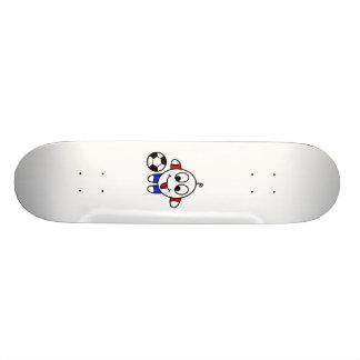 funny soccer dude custom skateboard