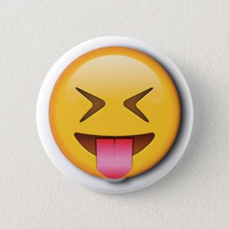 Funny Social Emoji 6 Cm Round Badge