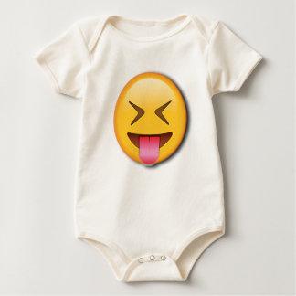 Funny Social Emoji Baby Bodysuit