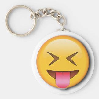 Funny Social Emoji Key Ring
