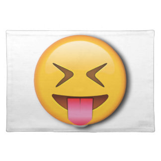 Funny Social Emoji Placemat