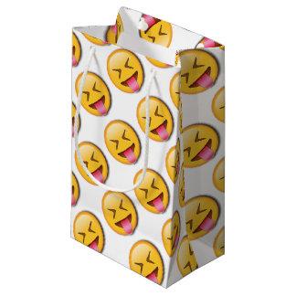 Funny Social Emoji Small Gift Bag