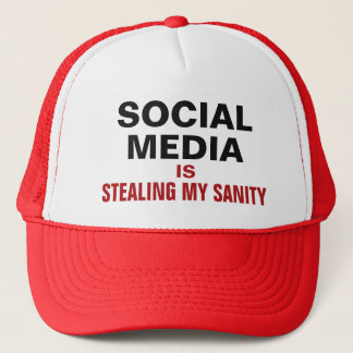 "Funny ""Social Media"" trucker hats"
