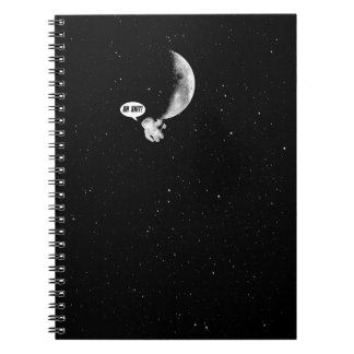 Funny Spaceman and The Moon Notebook