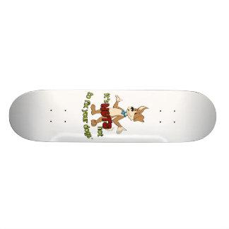 Funny spay / neuter skate decks