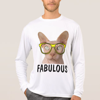 Funny SPHYNX Hairless Cat t-shirts FABULOUS