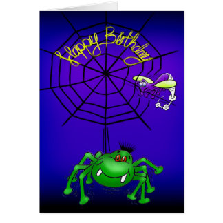Funny Spider Card