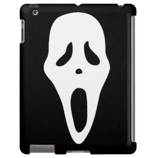 Funny Spooky Ghost Scream Face - Happy Halloween