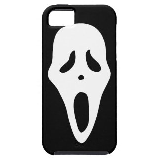 Funny Spooky Ghost Scream Face - Happy Halloween iPhone 5 Cover