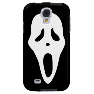 Funny Spooky Ghost Scream Face - Happy Halloween Galaxy S4 Case