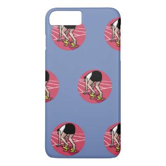 Funny sprinter iPhone 8 plus/7 plus case