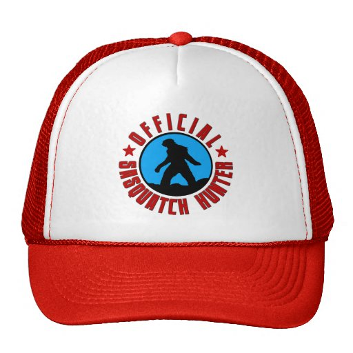 Funny Squatcher Hat - Official Sasquatch Hunter