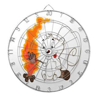 Funny Squirrel Cartoon Dart Boards