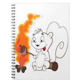 Funny Squirrel Cartoon Journal