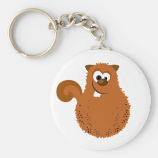 Funny Squirrel Keychain