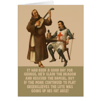 Funny St George's Day Card