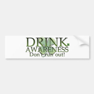 Funny St Paddys day customisable design Bumper Sticker