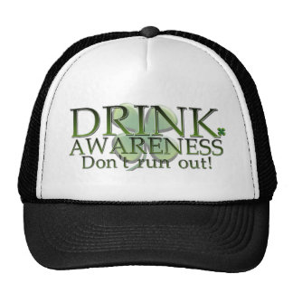 Funny St Paddys day customisable design Mesh Hats
