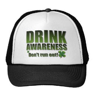 Funny St Paddys day customisable Mesh Hats