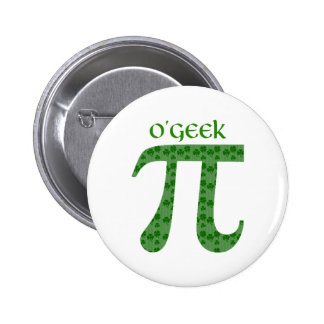 Funny St Pat s Day Pi Tees - O Geek McNerd Pins