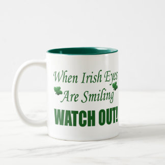 Funny St. Patrick's Day Gift Coffee Mugs