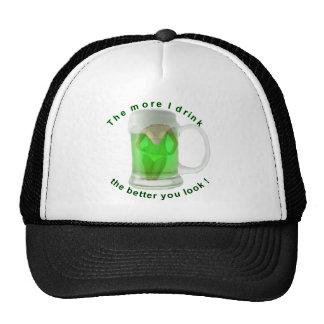 Funny St Patricks Day Shirts Mesh Hat