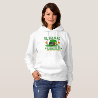 Funny St. Patrick's Day Women's Pullover Hoodie