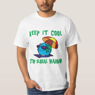 Funny Stop Global Warming T-Shirt