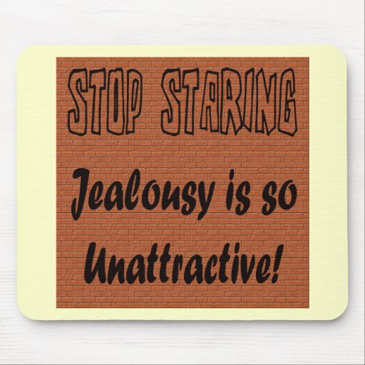 Funny Stop Staring T-shirts Gifts Mouse Pad