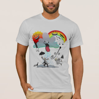 Funny Stormy Weather Rain T-Shirt