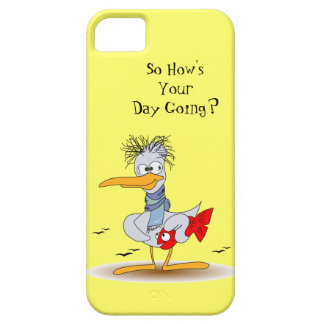 Funny Stressed Out Bird Seagull Case For The iPhone 5