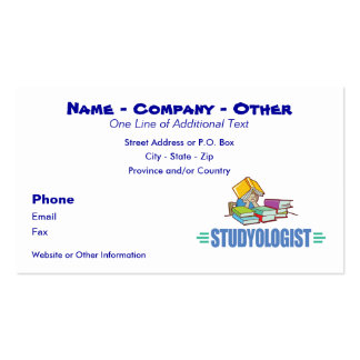Funny Student Business Cards