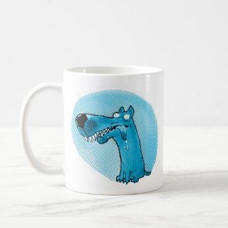 funny stupid dog cartoon coffee mug