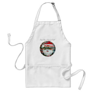Funny Sun Faces Christmas Holiday Gifts Standard Apron